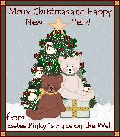MERRY CHRISTMAS GIFT:ESTEE PINKY'S PLACE